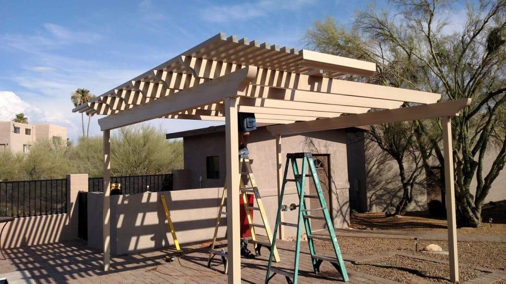 Tucson Free Standing Lattice