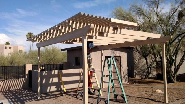 Tucson Freestanding Pergola