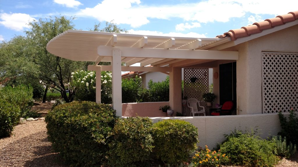 Tucson Attached Lattice Shade Cover