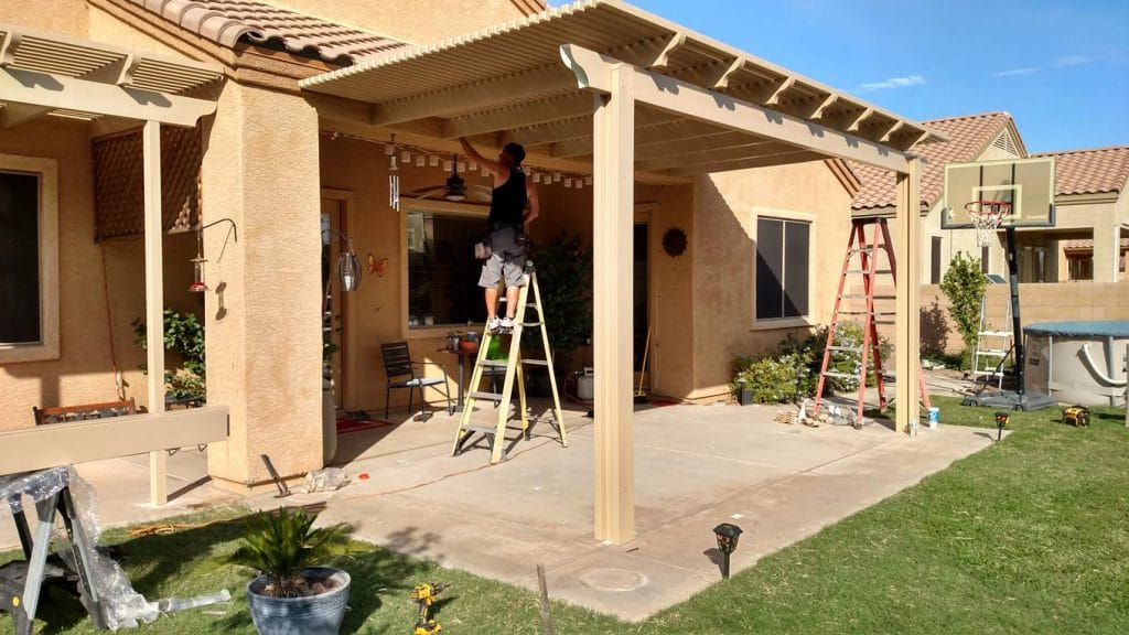 Tucson Lattice Shade Cover Enhance The Look Of Your Home