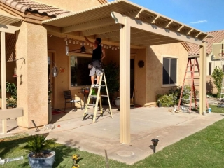 Pergola Patio Cover in Tucson AZ