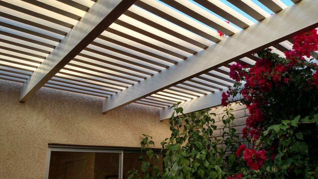Tucson Pergola closeup