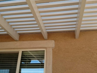 Window Pergola detail Tucson AZ