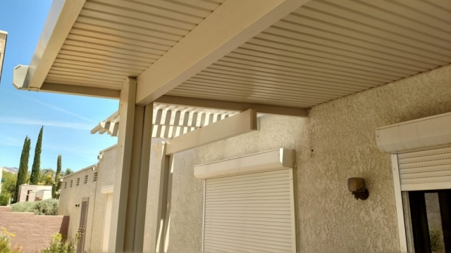 Patio Cover in Detail Tucson AZ