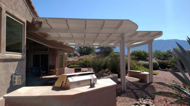 Large Pergola over a Patio Tucson AZ