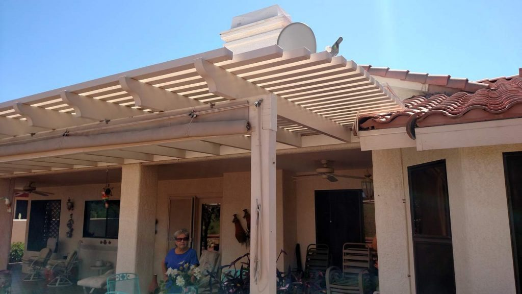 Linear Lattice Patio Cover Tucson AZ