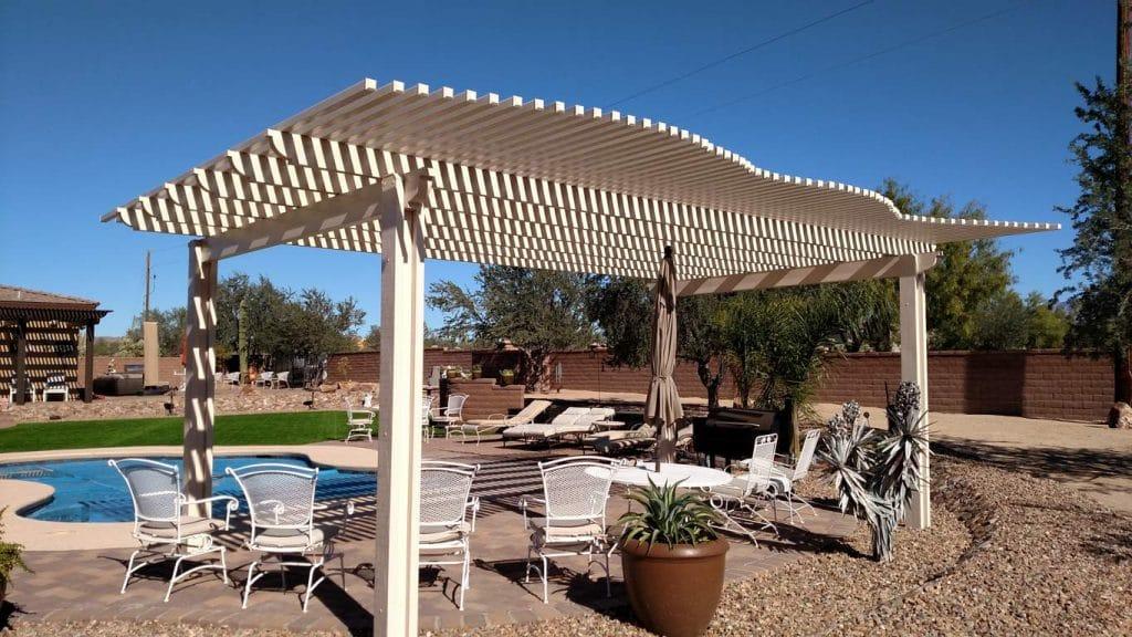 Freestanding Pergola in Tucson AZ