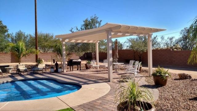 Free Standing Pergola in Tucson AZ