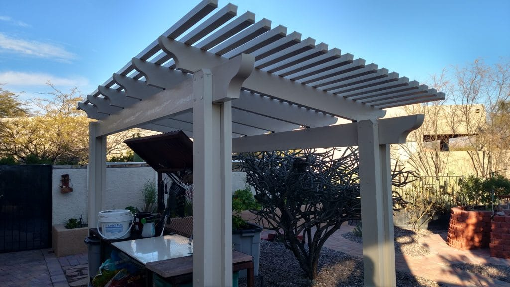 Tucson Pergolas - Enhance the look of your home!