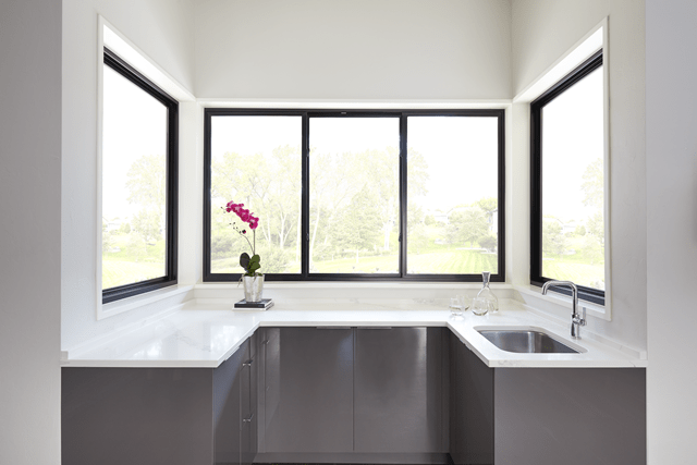 fiberglass triple sliding window